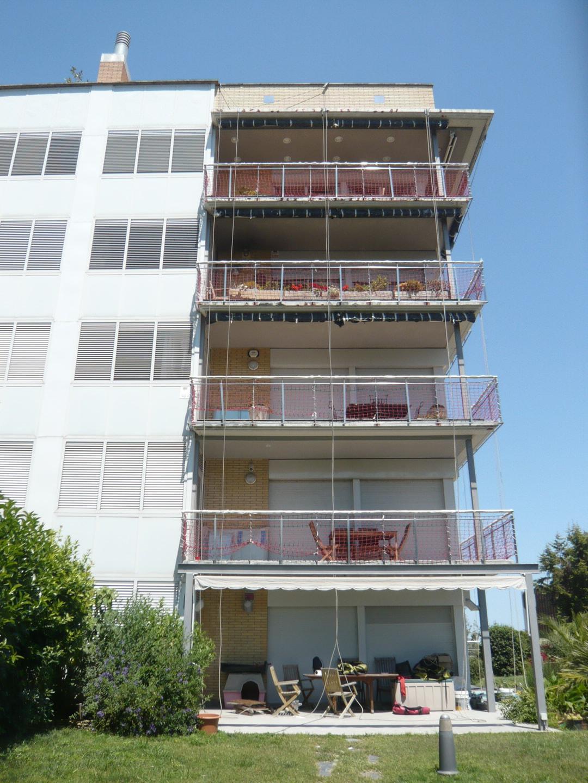 Reforma de losas de balcones en conjunto de edificios de
